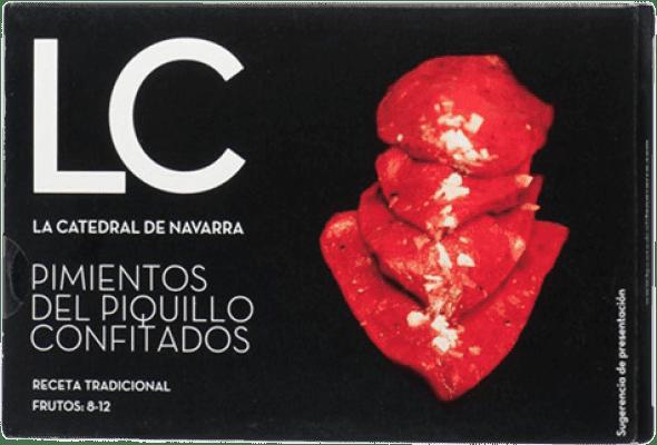 14,95 € Free Shipping | Conservas Vegetales La Catedral Pimientos del Piquillo Confitados Spain