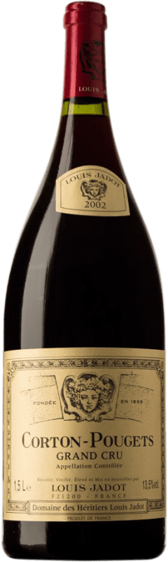 329,95 € | Red wine Louis Jadot Pougets Grand Cru 2002 A.O.C. Corton Burgundy France Chardonnay Magnum Bottle 1,5 L