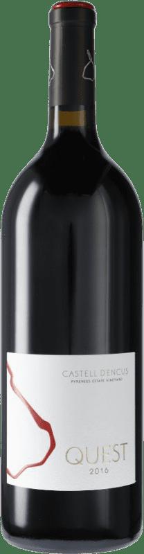 87,95 € Envoi gratuit | Vin rouge Castell d'Encús Quest D.O. Costers del Segre Espagne Merlot, Cabernet Sauvignon, Cabernet Franc, Petit Verdot Bouteille Magnum 1,5 L