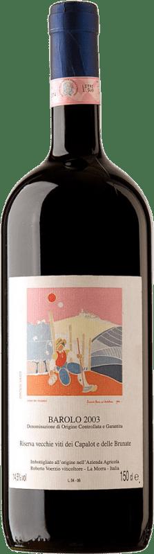 424,95 € Free Shipping | Red wine Roberto Voerzio R. Capalot Brunate 2003 D.O.C.G. Barolo Piemonte Italy Nebbiolo Magnum Bottle 1,5 L