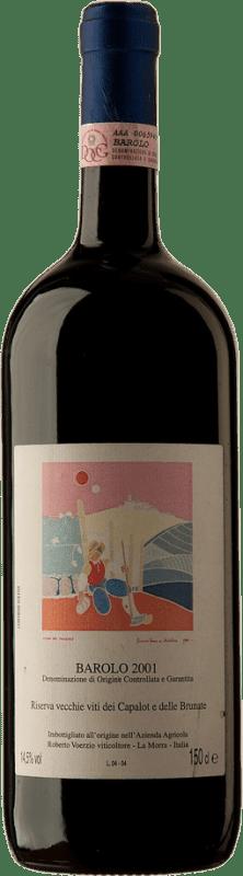 424,95 € Free Shipping | Red wine Roberto Voerzio R. Capalot Brunate 2001 D.O.C.G. Barolo Piemonte Italy Nebbiolo Magnum Bottle 1,5 L