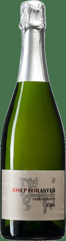11,95 € Free Shipping | Rosé sparkling Josep Foraster Rosat Brut Reserva D.O. Cava Spain Trepat Bottle 75 cl