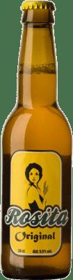 2,95 € Free Shipping | Beer Pamela Geddes Rosita Spain Botellín Tercio 33 cl