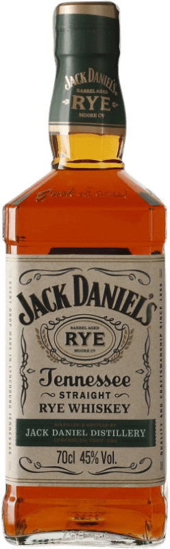 28,95 € | Bourbon Jack Daniel's Rye Tennessee United States Bottle 70 cl