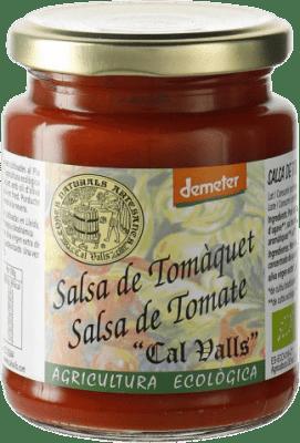 2,95 € Envío gratis | Salsas y Cremas Cal Valls Salsa de Tomate España