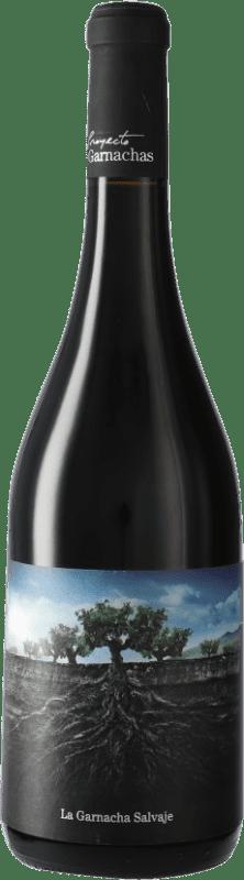 8,95 € Free Shipping | Red wine Vintae Chile Salvaje del Moncayo I.G.P. Vino de la Tierra Ribera del Queiles Spain Grenache Bottle 75 cl