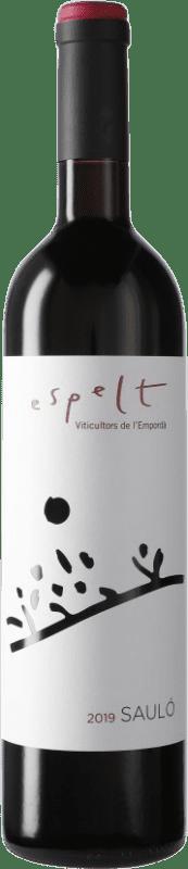 6,95 € | Red wine Espelt Sauló Negre D.O. Empordà Catalonia Spain Bottle 75 cl