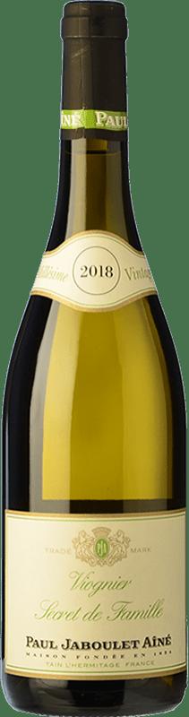 9,95 € Envío gratis | Vino blanco Jaboulet Aîné Secret de Famille Francia Viognier Botella 75 cl