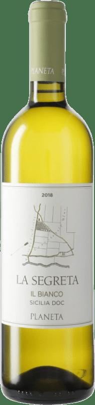 9,95 €   White wine Planeta Segretta Blanc I.G.T. Terre Siciliane Sicily Italy Viognier, Chardonnay, Fiano, Grecanico Dorato Bottle 75 cl