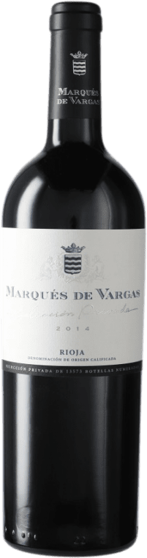 52,95 € Envío gratis | Vino tinto Marqués de Vargas Selección Privada D.O.Ca. Rioja España Botella 75 cl