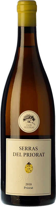 17,95 € Envoi gratuit | Vin blanc Clos Figueras Serras del Priorat Blanc D.O.Ca. Priorat Catalogne Espagne Grenache Blanc Bouteille 75 cl