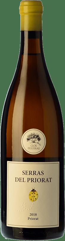 17,95 € Envío gratis | Vino blanco Clos Figueras Serras del Priorat Blanc D.O.Ca. Priorat Cataluña España Garnacha Blanca Botella 75 cl