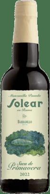 19,95 € | Fortified wine Barbadillo Solear en Rama Saca de Primavera D.O. Manzanilla-Sanlúcar de Barrameda Sanlucar de Barrameda Spain Palomino Fino Half Bottle 37 cl