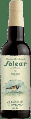 16,95 € | Fortified wine Barbadillo Solear en Rama Saca de Verano D.O. Manzanilla-Sanlúcar de Barrameda Sanlucar de Barrameda Spain Palomino Fino Half Bottle 37 cl