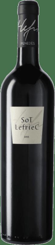 57,95 € Envío gratis | Vino tinto Alemany i Corrió Sot Lefriec D.O. Penedès Cataluña España Merlot, Cabernet Sauvignon, Cariñena Botella 75 cl