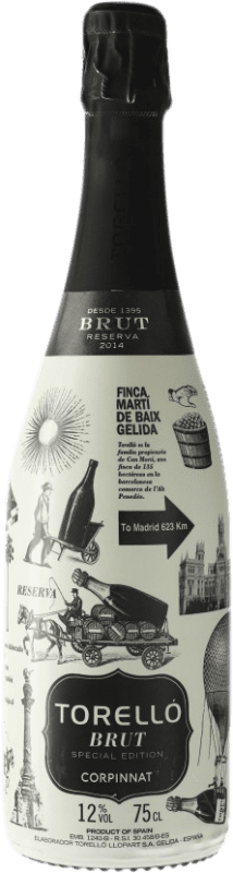 16,95 € | White sparkling Torelló Special Edition Madrid Brut Corpinnat Spain Macabeo, Xarel·lo, Parellada Bottle 75 cl