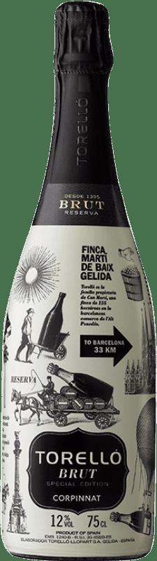 14,95 € Free Shipping   White sparkling Torelló Special Edition Brut Corpinnat Spain Macabeo, Xarel·lo, Parellada Bottle 75 cl