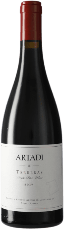 47,95 € | Red wine Artadi Terreras D.O. Navarra Navarre Spain Tempranillo Bottle 75 cl