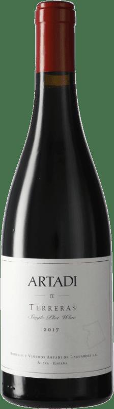 47,95 € Envío gratis | Vino tinto Artadi Terreras D.O. Navarra Navarra España Tempranillo Botella 75 cl