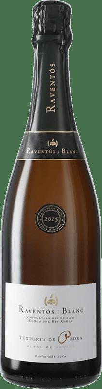 28,95 € Free Shipping   White sparkling Raventós i Blanc Textures de Pedra Catalonia Spain Sumoll, Bastardo, Xarel·lo Vermell Bottle 75 cl