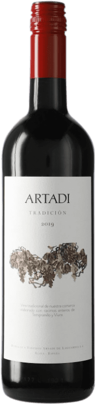 12,95 € | Red wine Artadi Tradición D.O. Navarra Navarre Spain Bottle 75 cl