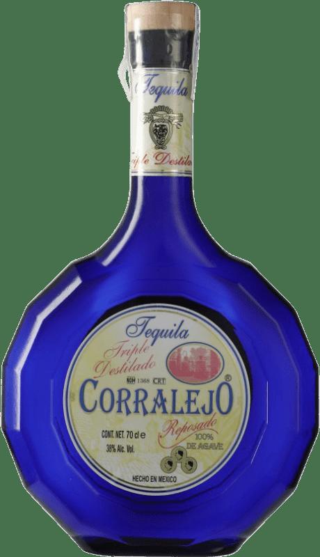 39,95 € Envío gratis | Tequila Corralejo Triple Destilado Jalisco Mexico Botella 70 cl