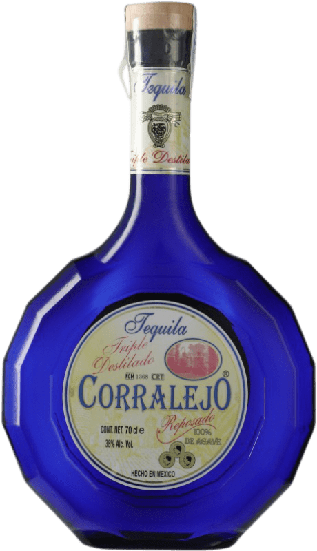 64,95 € Free Shipping | Tequila Corralejo Triple Destilado Jalisco Mexico Bottle 70 cl