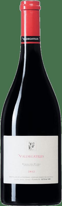 84,95 € 免费送货 | 红酒 Dominio de Atauta Valdegatiles D.O. Ribera del Duero 卡斯蒂利亚莱昂 西班牙 Tempranillo 瓶子 75 cl