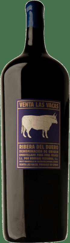 995,95 € Envoi gratuit | Vin rouge Vizcarra Venta las Vacas D.O. Ribera del Duero Castille et Leon Espagne Tempranillo Botella Melchor 18 L