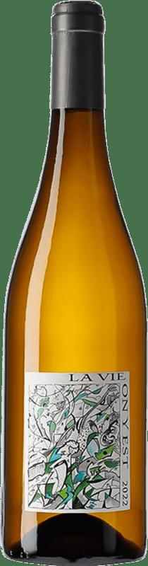 19,95 € Free Shipping | White wine Domaine Gramenon Vie On y Est A.O.C. Côtes du Rhône France Viognier Bottle 75 cl
