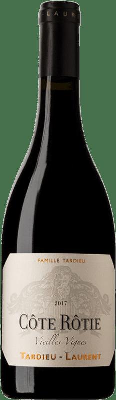 108,95 € Free Shipping | Red wine Tardieu-Laurent Vieilles Vignes A.O.C. Côte-Rôtie France Bottle 75 cl