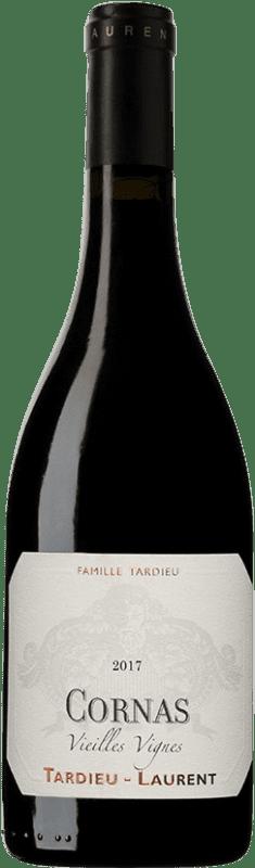 69,95 € Envoi gratuit | Vin rouge Tardieu-Laurent Vielles Vignes A.O.C. Cornas France Syrah, Serine Bouteille 75 cl