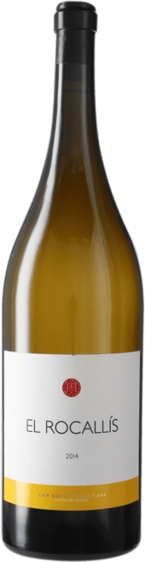 99,95 € Free Shipping | White wine Can Ràfols Vinya El Rocallís D.O. Penedès Catalonia Spain Incroccio Manzoni Magnum Bottle 1,5 L