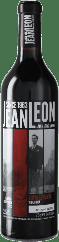 19,95 € Free Shipping | Red wine Jean Leon Vinya Le Havre Reserva D.O. Penedès Catalonia Spain Cabernet Sauvignon Bottle 75 cl
