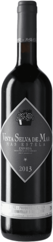 19,95 € Free Shipping | Red wine Mas Estela Vinya Selva De Mar D.O. Empordà Catalonia Spain Syrah, Grenache, Carignan Bottle 75 cl