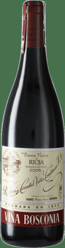 22,95 € Envoi gratuit   Vin rouge López de Heredia Viña Bosconia Reserva D.O.Ca. Rioja Espagne Tempranillo, Grenache, Graciano, Mazuelo Bouteille 75 cl