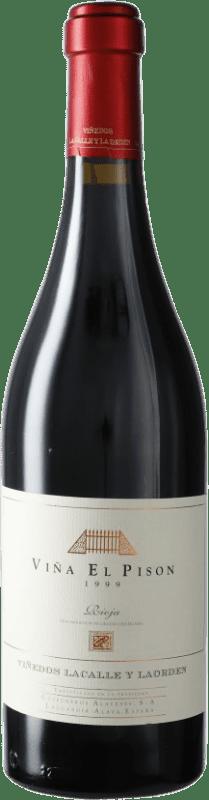 438,95 € 免费送货 | 红酒 Artadi Viña El Pisón 1999 D.O. Navarra 纳瓦拉 西班牙 Tempranillo 瓶子 75 cl