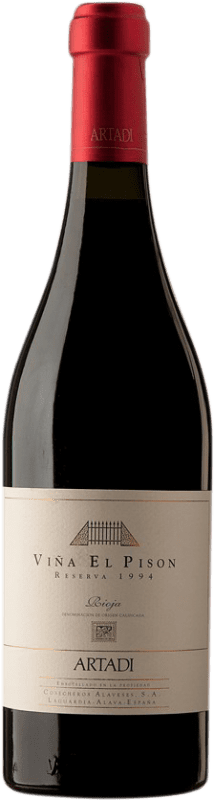 415,95 € | Red wine Artadi Viña El Pisón 1994 D.O. Navarra Navarre Spain Tempranillo Bottle 75 cl