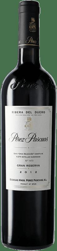319,95 € Envío gratis | Vino tinto Pérez Pascuas Viña Pedrosa Gran Selección D.O. Ribera del Duero Castilla y León España Tempranillo Botella 75 cl