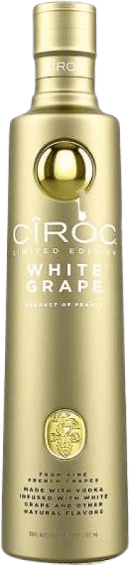 43,95 € | Vodka Cîroc White Grape France Bottle 70 cl