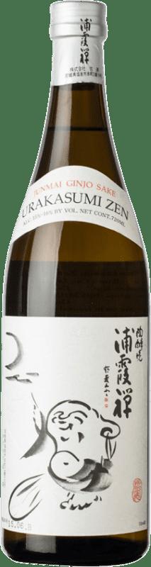 51,95 € Envío gratis | Sake Urakasumi Saura Zen Japón Botella 72 cl